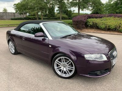 Audi A4 Cabriolet Convertible 2.0 TFSI Final Edition Cabriolet 2dr