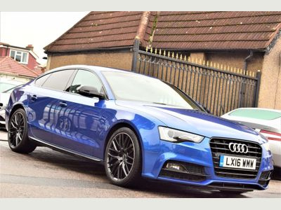 Audi A5 Hatchback 1.8 TFSI Black Edition Plus Sportback (s/s) 5dr