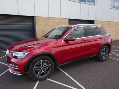 Mercedes-Benz GLC Class SUV 2.0 GLC220d AMG Line G-Tronic+ 4MATIC (s/s) 5dr