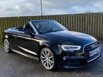 Audi A3 Cabriolet Convertible 2.0 TFSI S line Cabriolet S Tronic (s/s) 2dr