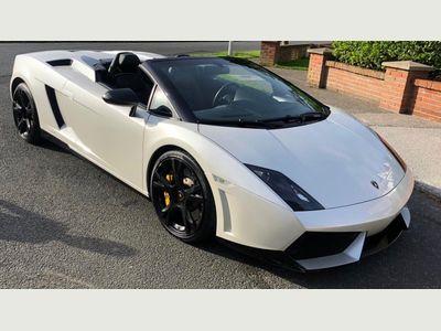 Lamborghini Gallardo Convertible 5.2 V10 LP560-4 Spyder E-Gear 4WD 2dr