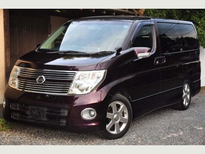 Nissan Elgrand MPV HIGHWAY STAR 2.5 LEATHER SUNROOFS