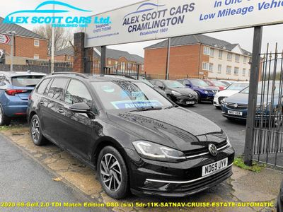 Volkswagen Golf Estate 2.0 TDI Match Edition DSG (s/s) 5dr