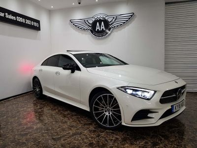 Mercedes-Benz CLS Coupe 3.0 CLS450 EQ Boost AMG Line (Premium Plus) G-Tronic 4MATIC (s/s) 4dr
