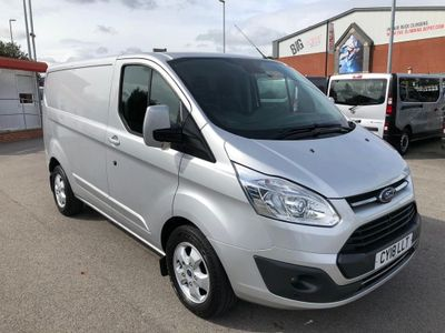Ford Transit Custom Panel Van 2.0 TDCi 290 L1H1 Limited FWD 5dr