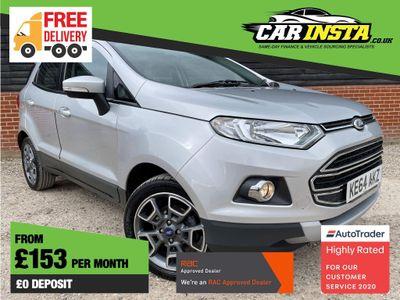 Ford EcoSport SUV 1.5 TDCi Titanium X (X Pack) 5dr