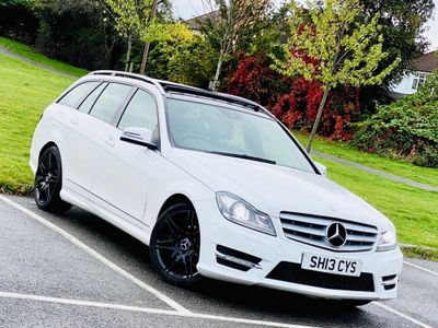 Mercedes-Benz C Class Estate 1.6 C180 AMG Sport Plus 7G-Tronic Plus 5dr