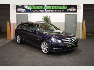 Mercedes-Benz C Class Estate 2.1 C220 CDI BlueEFFICIENCY Sport Edition Edition 125 5dr