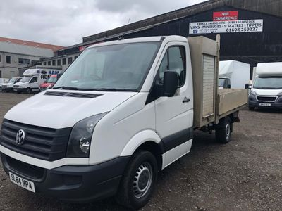 Volkswagen Crafter Dropside 2.0 TDI CR35 LWB Chassis Cab 2dr (LWB)