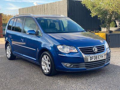 Volkswagen Touran MPV 2.0 TDI DPF Sport DSG 5dr (7 Seats)