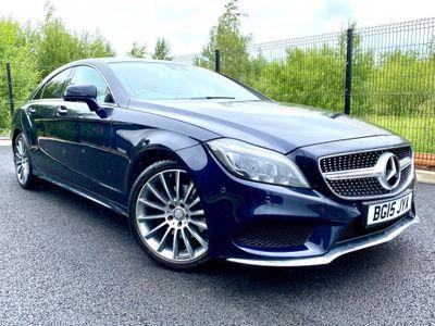 Mercedes-Benz CLS Coupe 2.1 CLS220d AMG Line (Premium Plus) G-Tronic+ (s/s) 4dr
