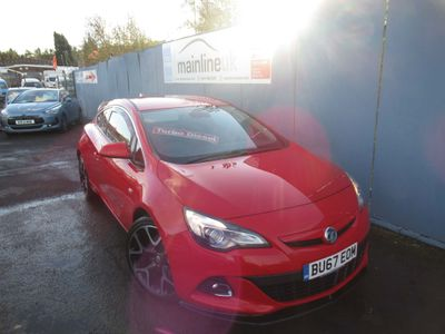 Vauxhall Astra GTC Coupe 1.6 CDTi ecoTEC Limited Edition (s/s) 3dr