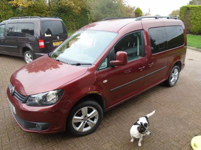 Volkswagen Caddy Maxi Other 1.6 TDI C20 Maxi Life Window Van DSG 5dr (5 Seats)