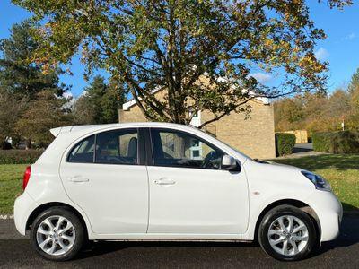 Nissan Micra Hatchback 1.2 Acenta CVT 5dr