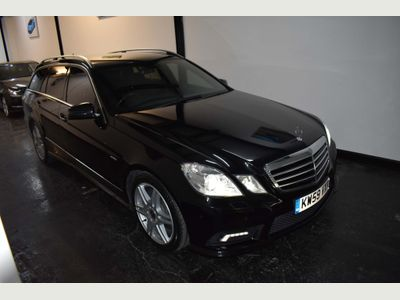 MERCEDES-BENZ E CLASS Estate 3.5 E350 BlueEFFICIENCY Sport Auto 5dr