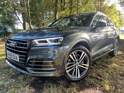 Audi Q5 SUV 2.0 TFSIe 55 S line Competition S Tronic quattro (s/s) 5dr 14.1kWh