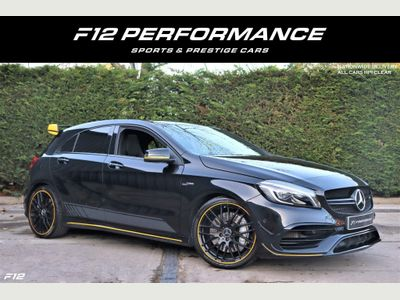 Mercedes-Benz A Class Hatchback 2.0 A45 AMG Yellow Night Edition SpdS DCT 4MATIC (s/s) 5dr