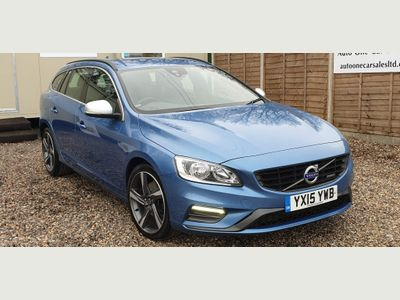 Volvo V60 Estate 2.0 D4 R-Design Nav Geartronic (s/s) 5dr