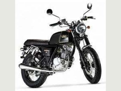 Mash Motorcycles Black 7 Naked 125