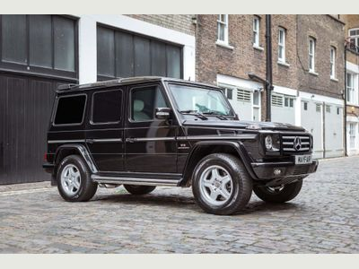 Mercedes-Benz G Class SUV 5.4 G55 V8 AMG Tiptronic 4WD 5dr