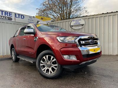 Ford Ranger Pickup 2.2 TDCi Limited 2 Double Cab Pickup 4WD 4dr