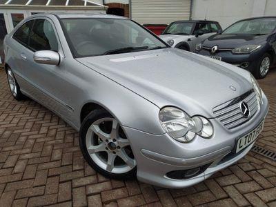 Mercedes-Benz C Class Coupe 1.8 C180 Kompressor Sport Edition 2dr