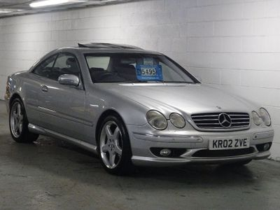 Mercedes-Benz CL Coupe 5.4 CL55 Kompressor AMG 2dr