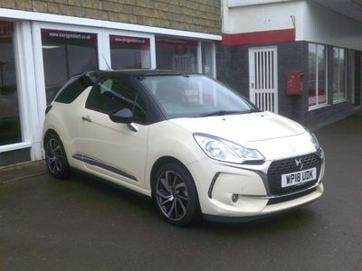 DS AUTOMOBILES DS 3 Hatchback 1.2 PureTech Parthenon Cream 3dr