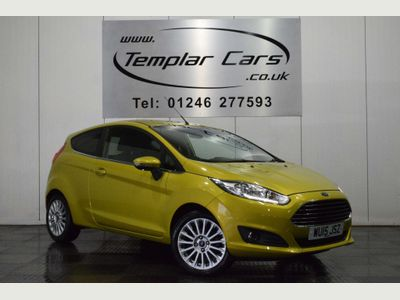 FORD FIESTA Hatchback 1.6 Titanium Powershift 3dr (EU6)