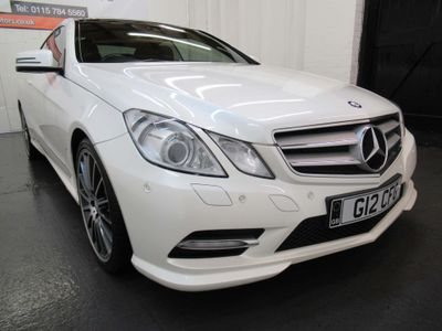 Mercedes-Benz E Class Coupe 3.0 E350 CDI BlueEFFICIENCY Sport G-Tronic 2dr