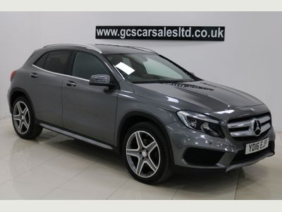 Mercedes-Benz GLA Class SUV 2.1 GLA220d AMG Line (Executive) 7G-DCT 4MATIC (s/s) 5dr