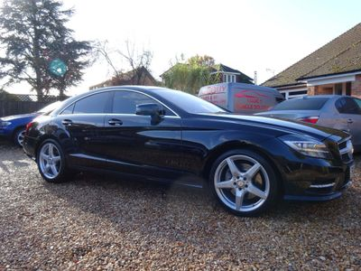 Mercedes-Benz CLS Coupe 3.0 CLS350 BlueEFFICIENCY AMG Sport 7G-Tronic Plus 4dr