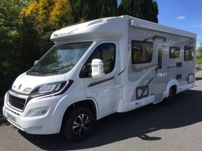 Elddis Autoquest 196 Coach Built PRESTIGE VAT Q 6 BERTH 6 BELTS