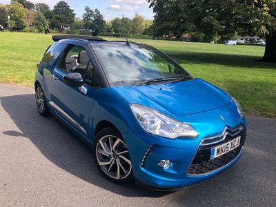 Citroen DS3 Cabrio Convertible 1.6 THP DSire Cabriolet (s/s) 2dr