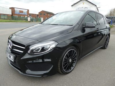 Mercedes-Benz B Class MPV 1.5 B180d AMG Line (Premium) 7G-DCT (s/s) 5dr