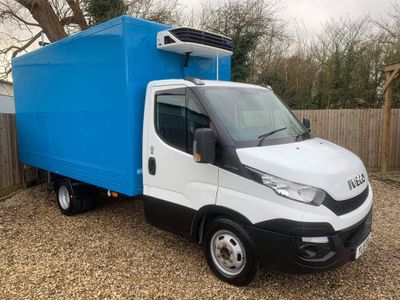 Iveco Daily Temperature Controlled 35C13 LWB Fridge/Freezer Box Twin Wheel