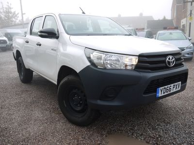 Toyota Hilux Pickup 2.4 D-4D Active Double Cab Pickup 2dr