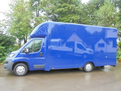 Peugeot Boxer Luton 2.0 BlueHDi 335 Built for Business L3 Low-Floor Luton 2dr