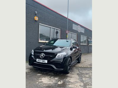 Mercedes-Benz GLE Class SUV 5.5 GLE63 V8 AMG S (Premium) SpdS+7GT 4MATIC (s/s) 5dr