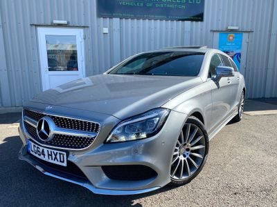 Mercedes-Benz CLS Estate 3.0 CLS350d V6 AMG Line (Premium Plus) Shooting Brake G-Tronic+ (s/s) 5dr