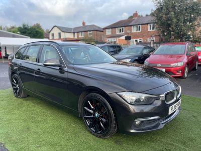 BMW 3 Series Estate 2.0 318d Luxury Touring Auto (s/s) 5dr