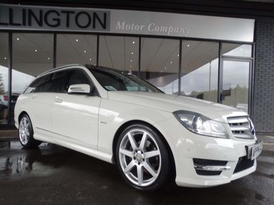 Mercedes-Benz C Class Estate 2.1 C250 CDI BlueEFFICIENCY Sport Edition Edition 125 G-Tronic 5dr