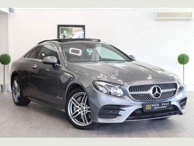 Mercedes-Benz E Class Coupe 3.0 E400d AMG Line (Premium Plus) G-Tronic+ 4MATIC (s/s) 2dr