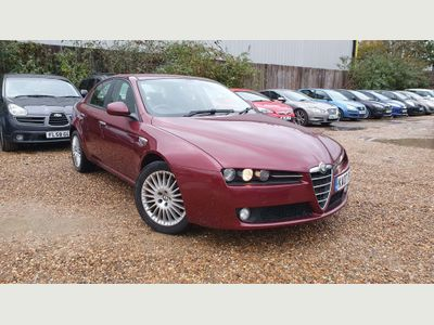 Alfa Romeo 159 Saloon 2.2 JTS Turismo 4dr