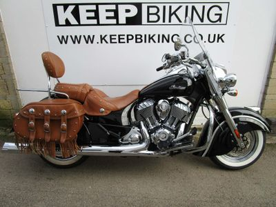 Indian Chief Tourer 1800 Chief Vintage (Thunder Black) Tourer