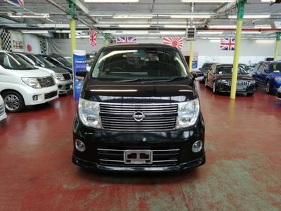 NISSAN ELGRAND MPV HWS BLK LEATHER EDIDTION+360 VIEW