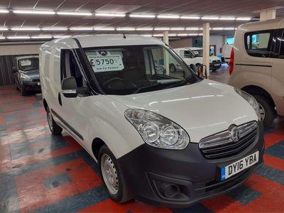 Vauxhall Combo Panel Van 2000 L1Hi CDTi 16v 5Door Panel Van