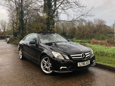 Mercedes-Benz E Class Coupe 3.5 E350 BlueEFFICIENCY Sport Edition 125 7G-Tronic Plus (s/s) 2dr