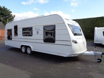 Tabbert PARIS Tourer BRAND NEW 2021,5 BERTH,FIXED BED CARAVAN.