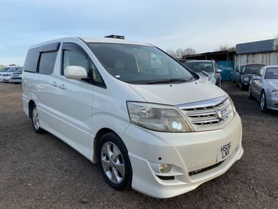 Toyota Alphard MPV 2.4 G AS PEARL WHITE NEWER SHAPE